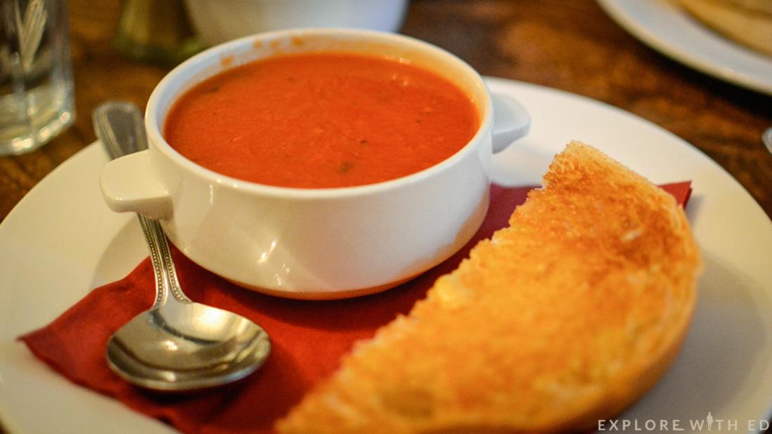 Sally Lunn Bun, Bath, Tomato soup