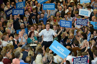 David Cameron: The UK's future in the EU is practically in his hands.
