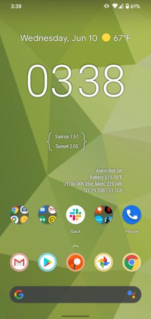 يضيف Android 11 Beta  اقتراحات التطبيقات الديناميكية إلى شاشة Pixel Launcher الرئيسية
