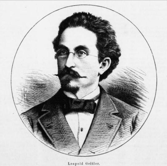Slavian scholar Leopold Geitler: names of Slavic Glagolitic letters are of Albanian origin