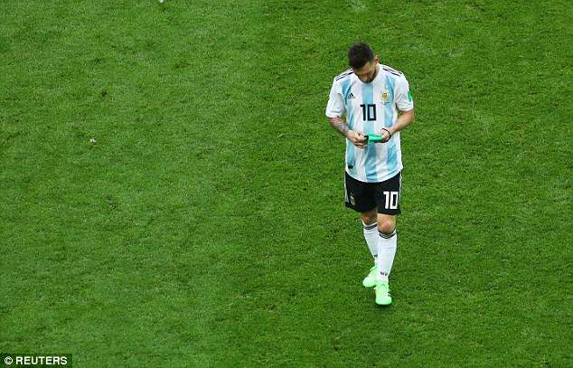Time is, however, running out for Messi to taste glory at a World Cup finals