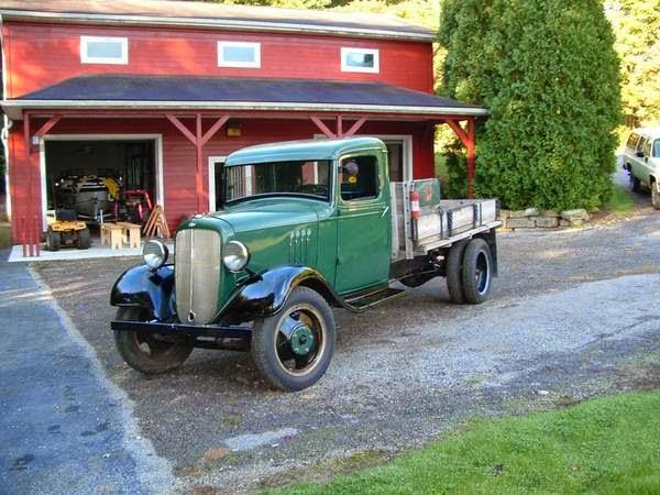 American Vintage Truck Chevrolet 1.5 Ton Truck 1935 | Auto ...