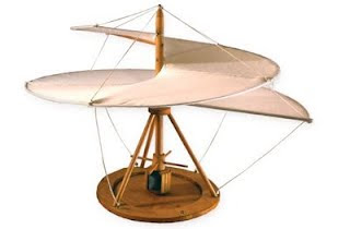 El tornillo aéreode Leonrado es la base del helicóptero