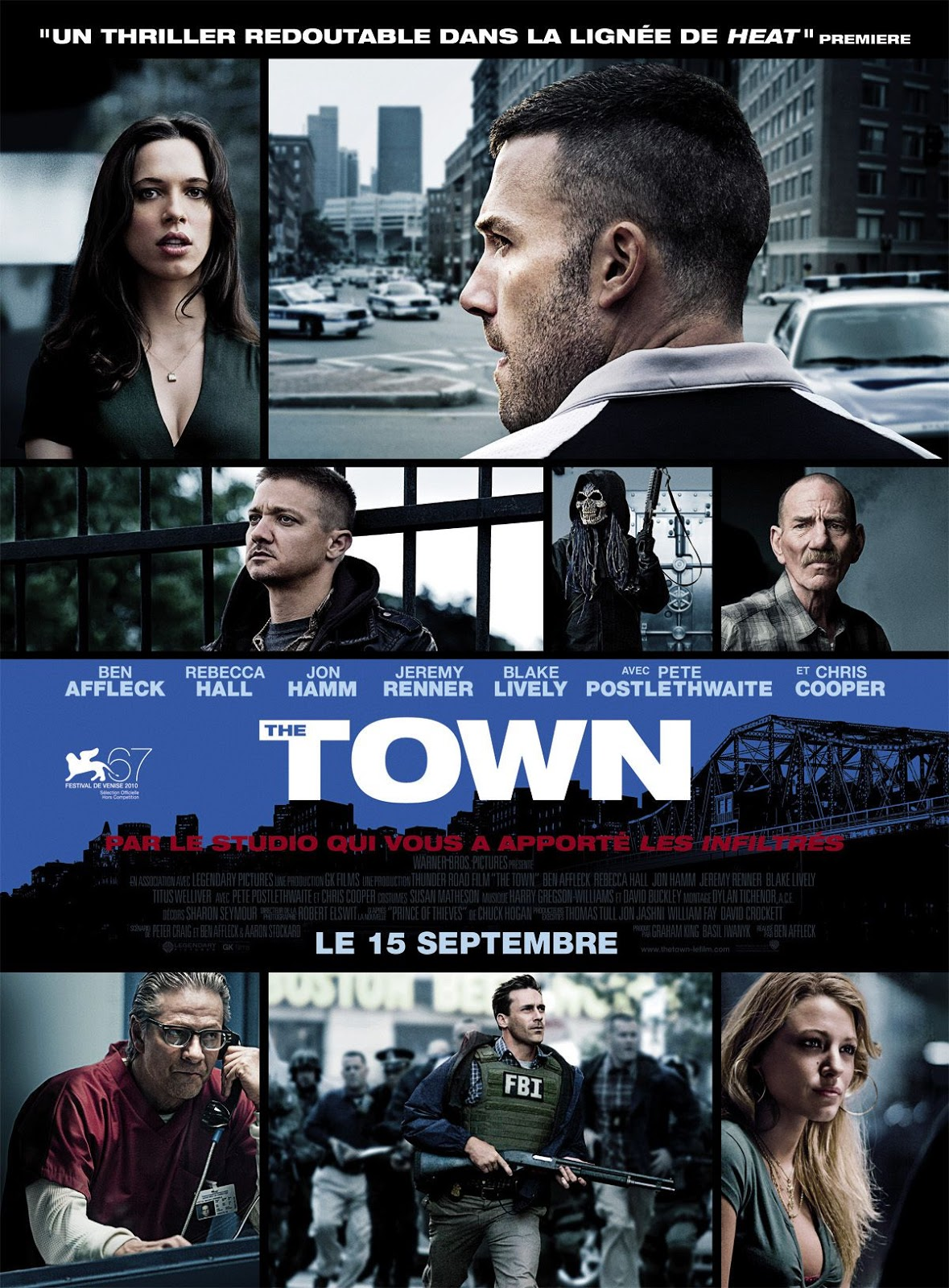 The Town 2010 Dual Audio Hindi English 720p BluRay Full Movie Free Download