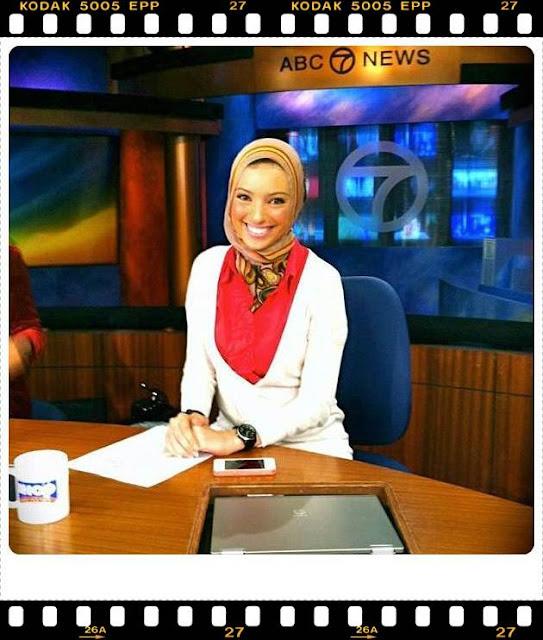 WIKI NOOR TAGOURI prima jurnalista de origine musulmana