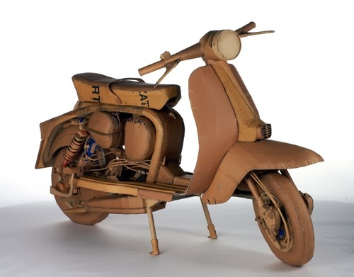 10-Lambretta-Life-Size-Chris-Gilmour-Cardboard-Sculptures-www-designstack-co
