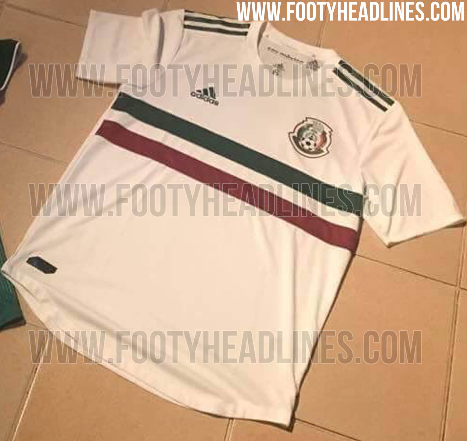 Mexico s 2018 World Cup home and away kits have been already leaked. +1 906f200dc
