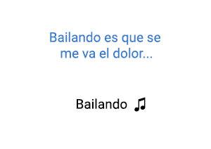 Enrique Iglesias Decemer Bueno Gente de Zona Bailando significado de la canción.