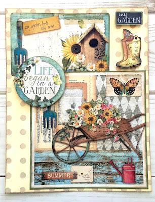 Journal - Garden by Stamperia