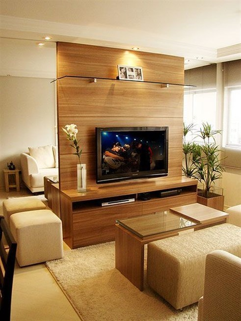 Living Room Unit Designs: Lcd Wall Unit Design For Living Room