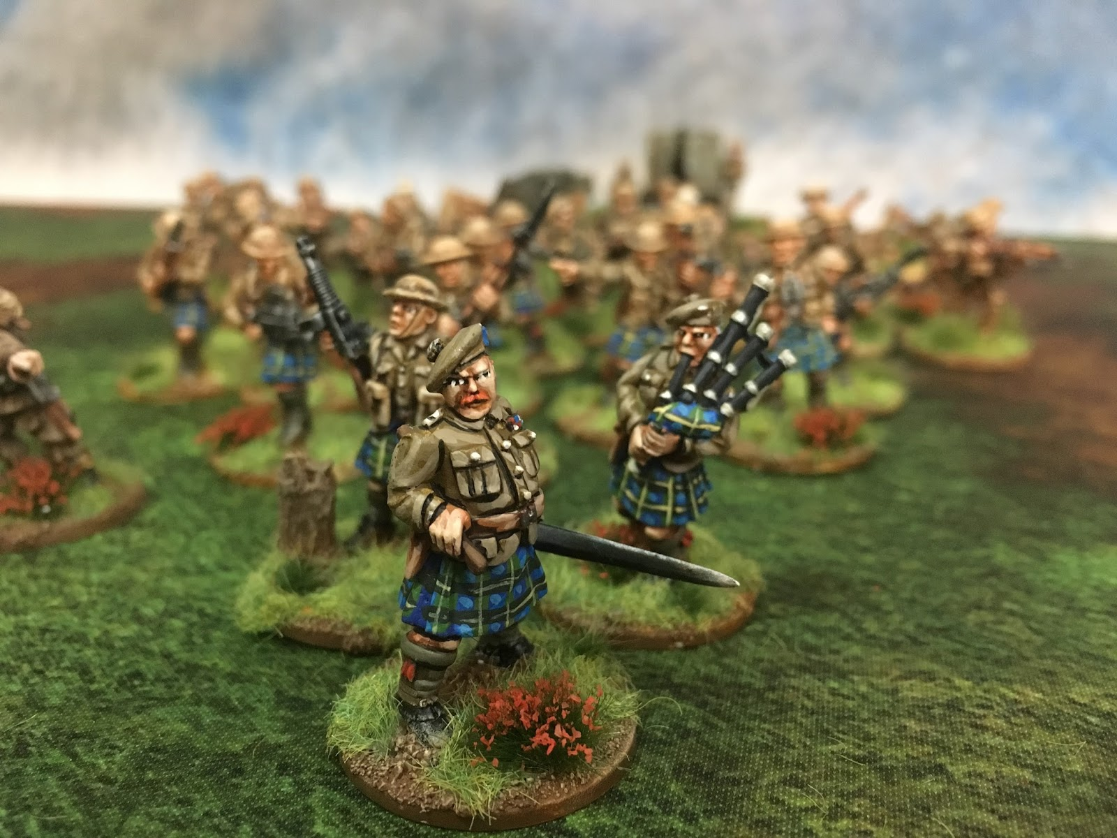 Bolt Action Painting Bef And Tartan Wwpd Wargames