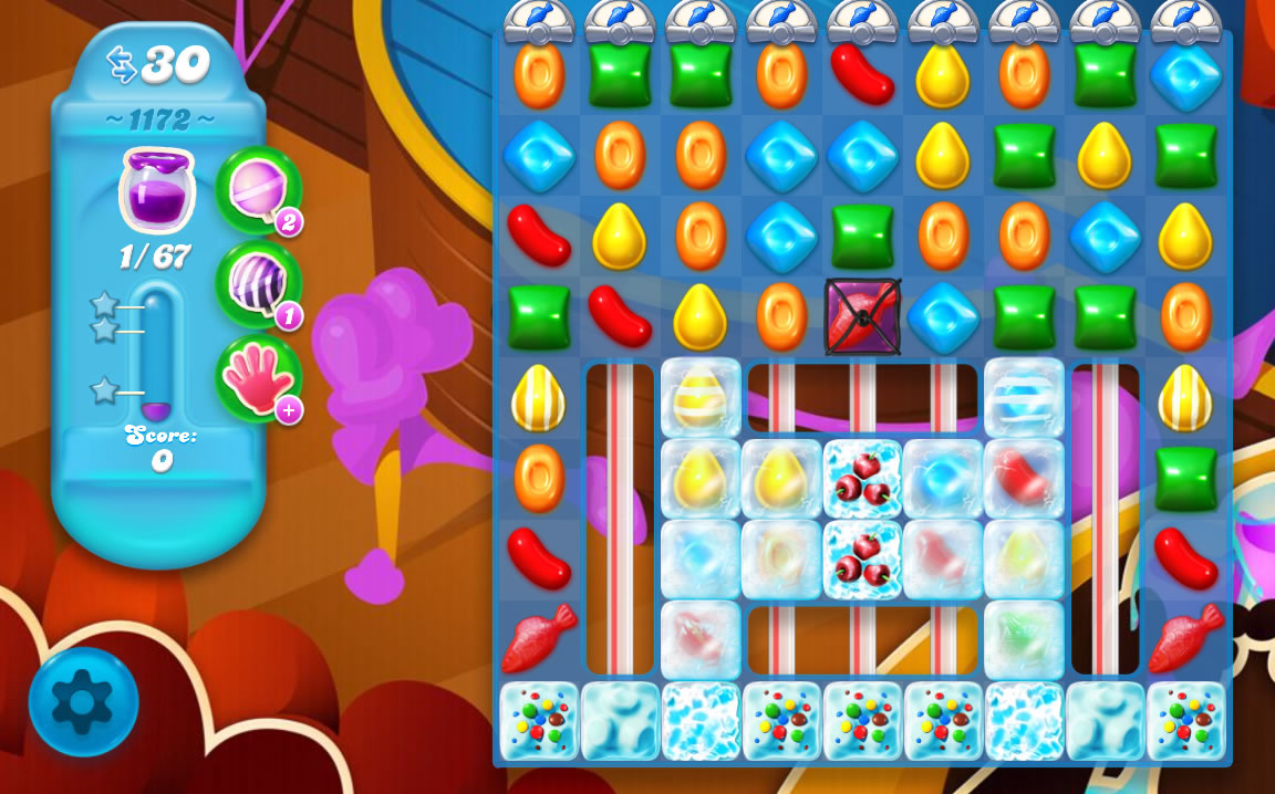 Candy Crush Soda Saga level 1172