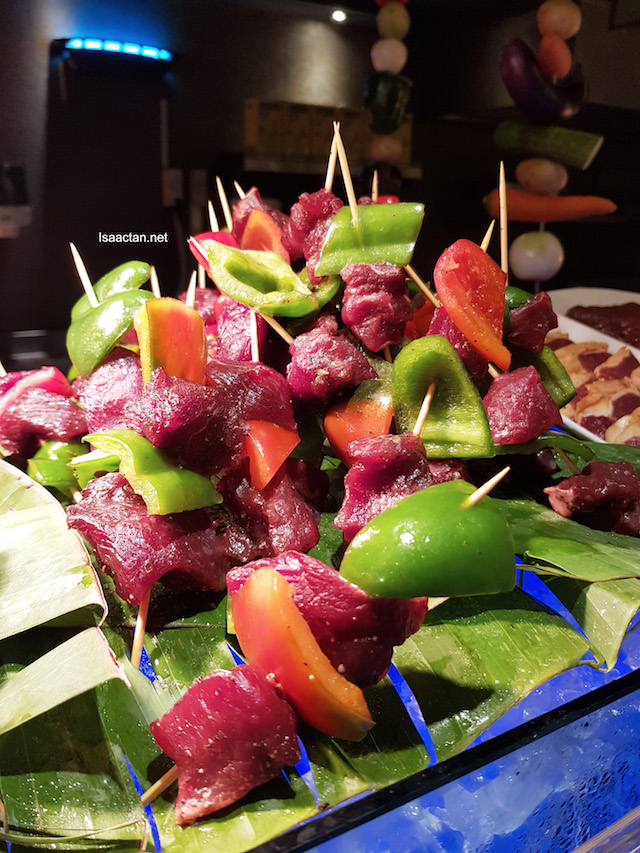 Skewered Meat Kebabs