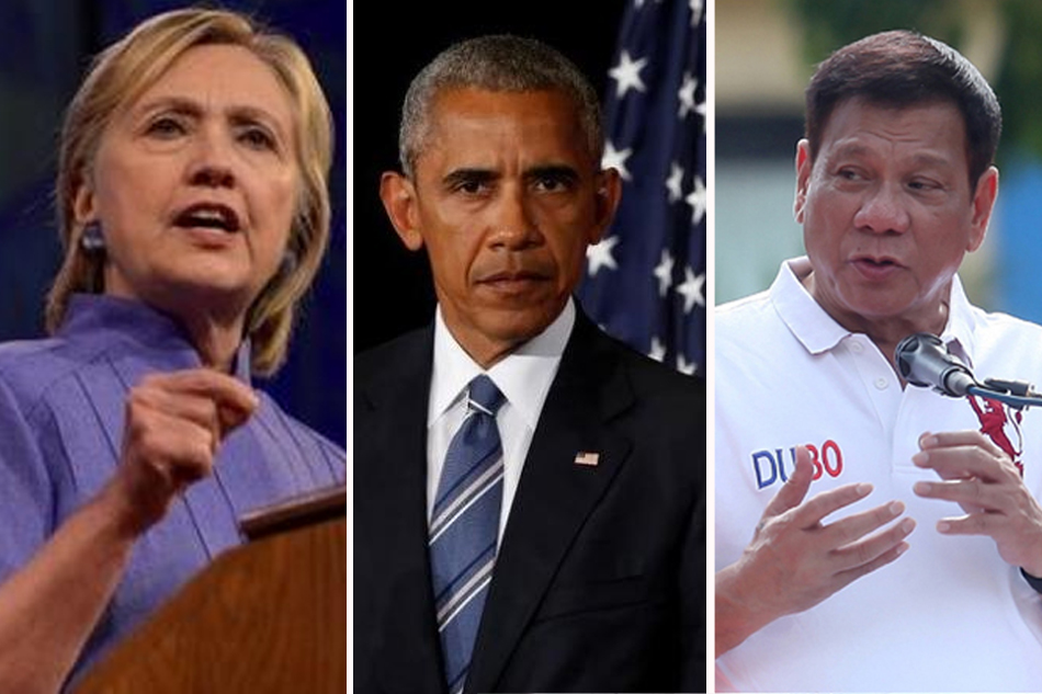Hillary Clinton Reacts To Duterte-Obama Rift