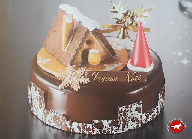 Gâteau au chocolat de Noël au Japon