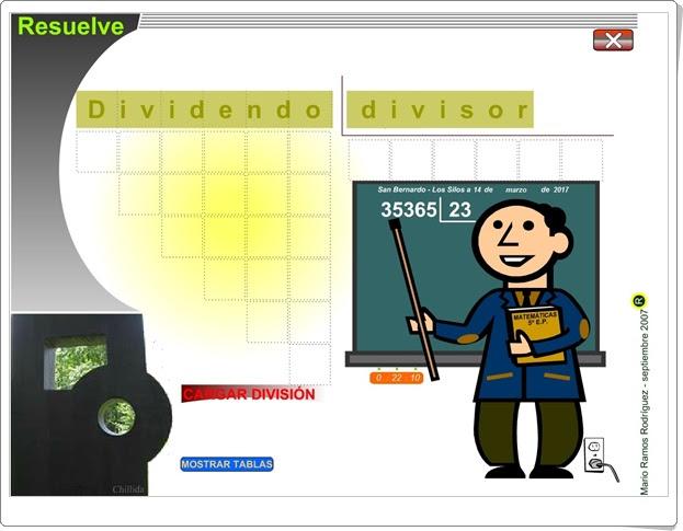 """""""Resuelve"""" (Algoritmo de la división por 2 cifras)"""