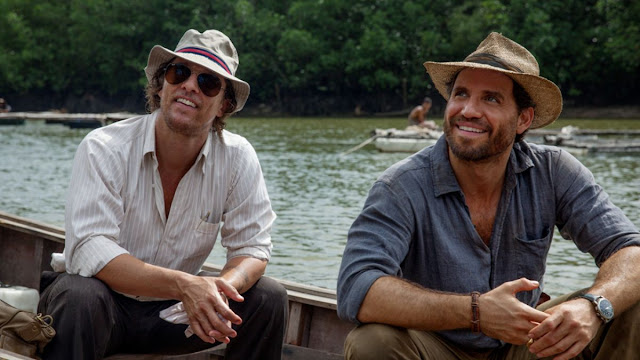Gold starring Matthew McConaughey and Edgar Ramirez