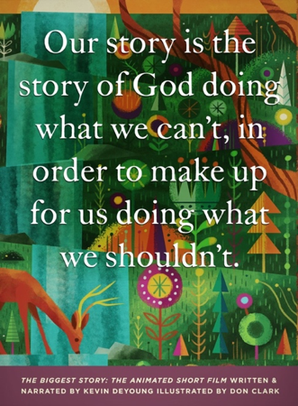 The Biggest Story teaches kids the big picture story of the Bible.