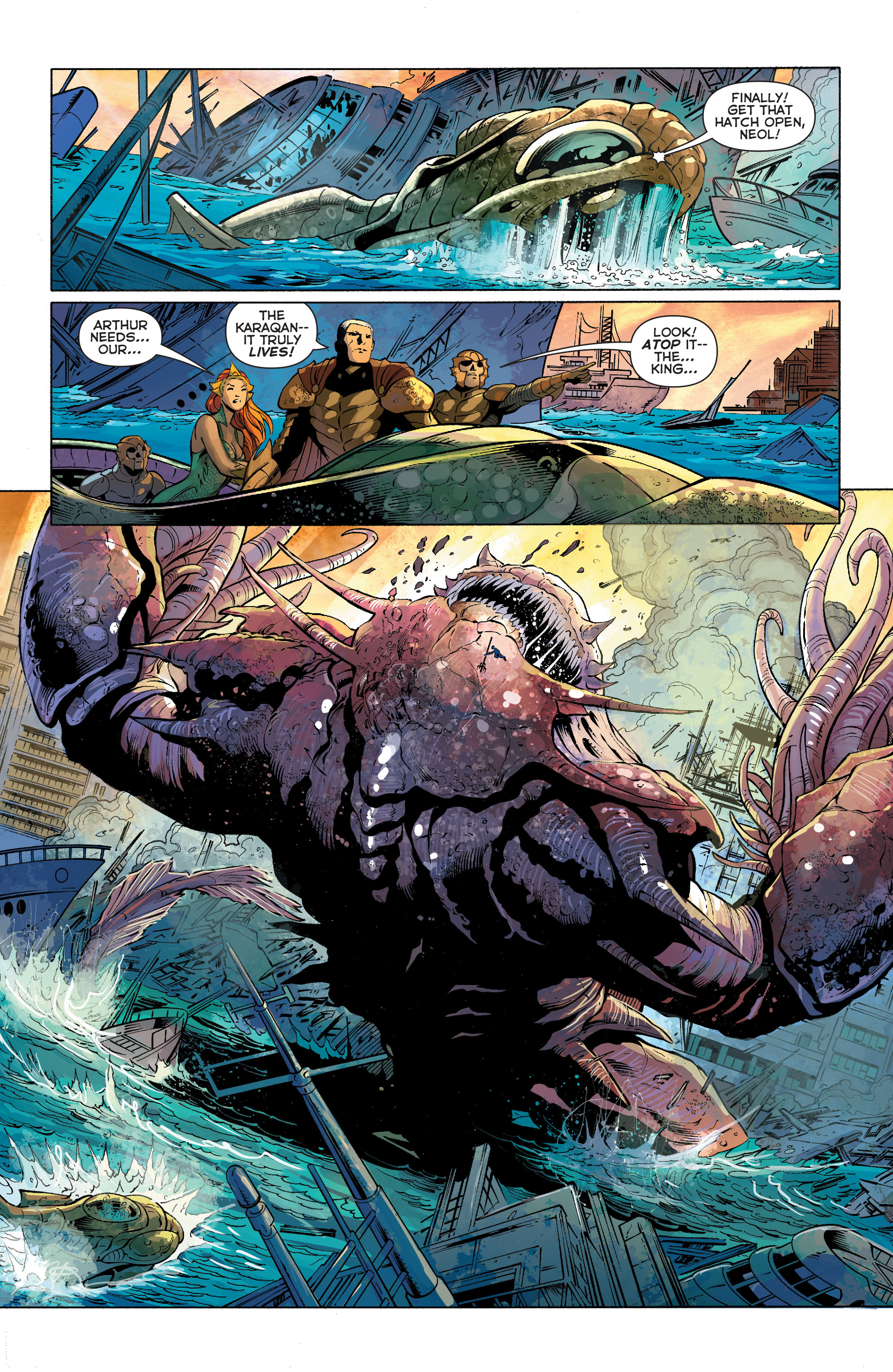 Read online Aquaman (2011) comic -  Issue #27 - 16