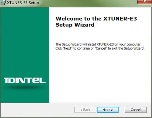XTUNER E3 Software