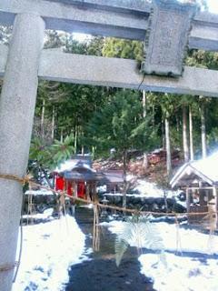 朽木の八幡神社