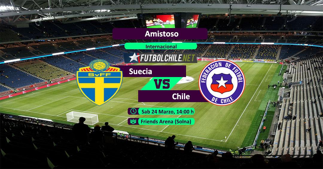 Suecia vs Chile: Previa, horario, dónde ver en vivo por TV y online por la Fecha FIFA