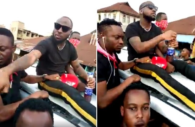 VIDEO: Davido Hails By Osun Boys During The Campaing In Osun State