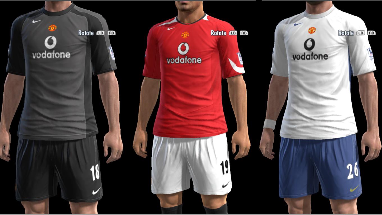 new styles 388c7 a8e9e Manchester United Kits 2004-2005 by Olmajti (Pes 2013)