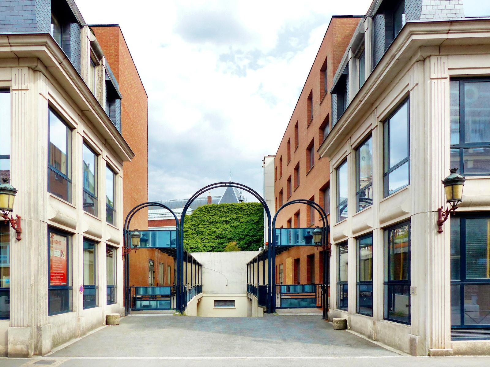 ECOSUP Campus Tourcoing - Entrée de service