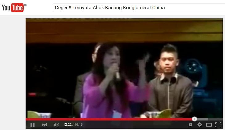"VIDEO TERBARU : Teman AHOK ""Juli"" Hebohkan Netizen"