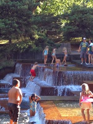 Keller Fountain in Portland, Oregon