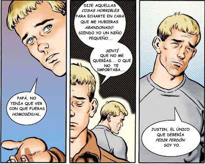 Gay papa et fils porno Comics