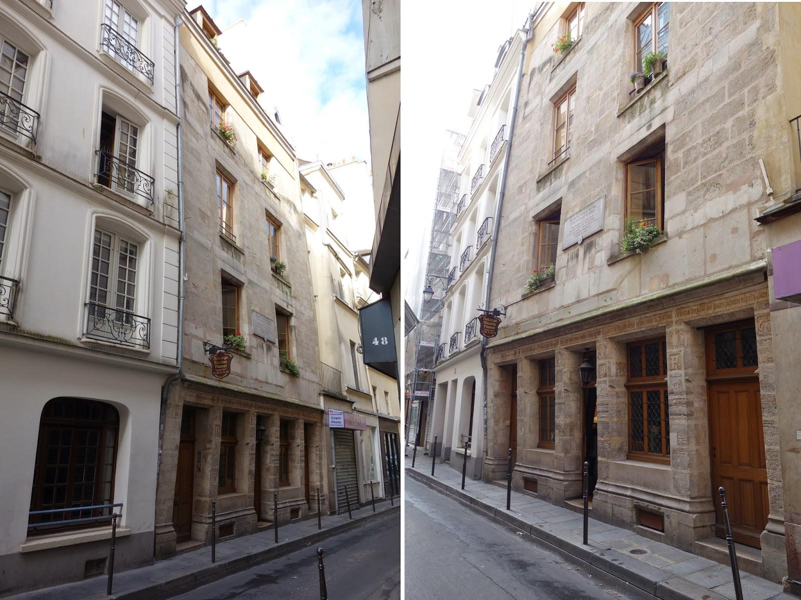 Paris les plus anciennes maisons de paris les for Maison nicolas