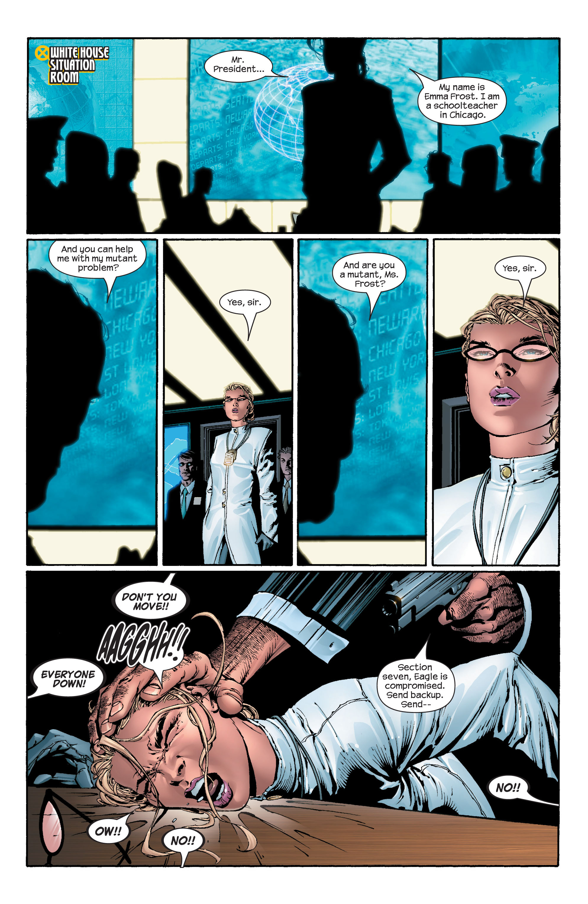 Read online Ultimate X-Men comic -  Issue #43 - 5