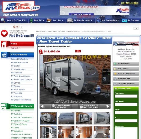 designstop com: trailer pricing