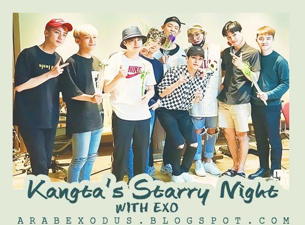 ترجمه || راديو Kangta's Starry Night  مع اكسو + فيديو العقاب