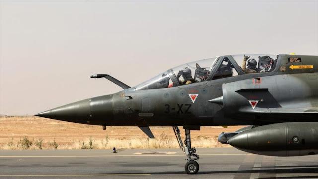 Aviones de Francia realizan operación 'antiterrorista' en Níger