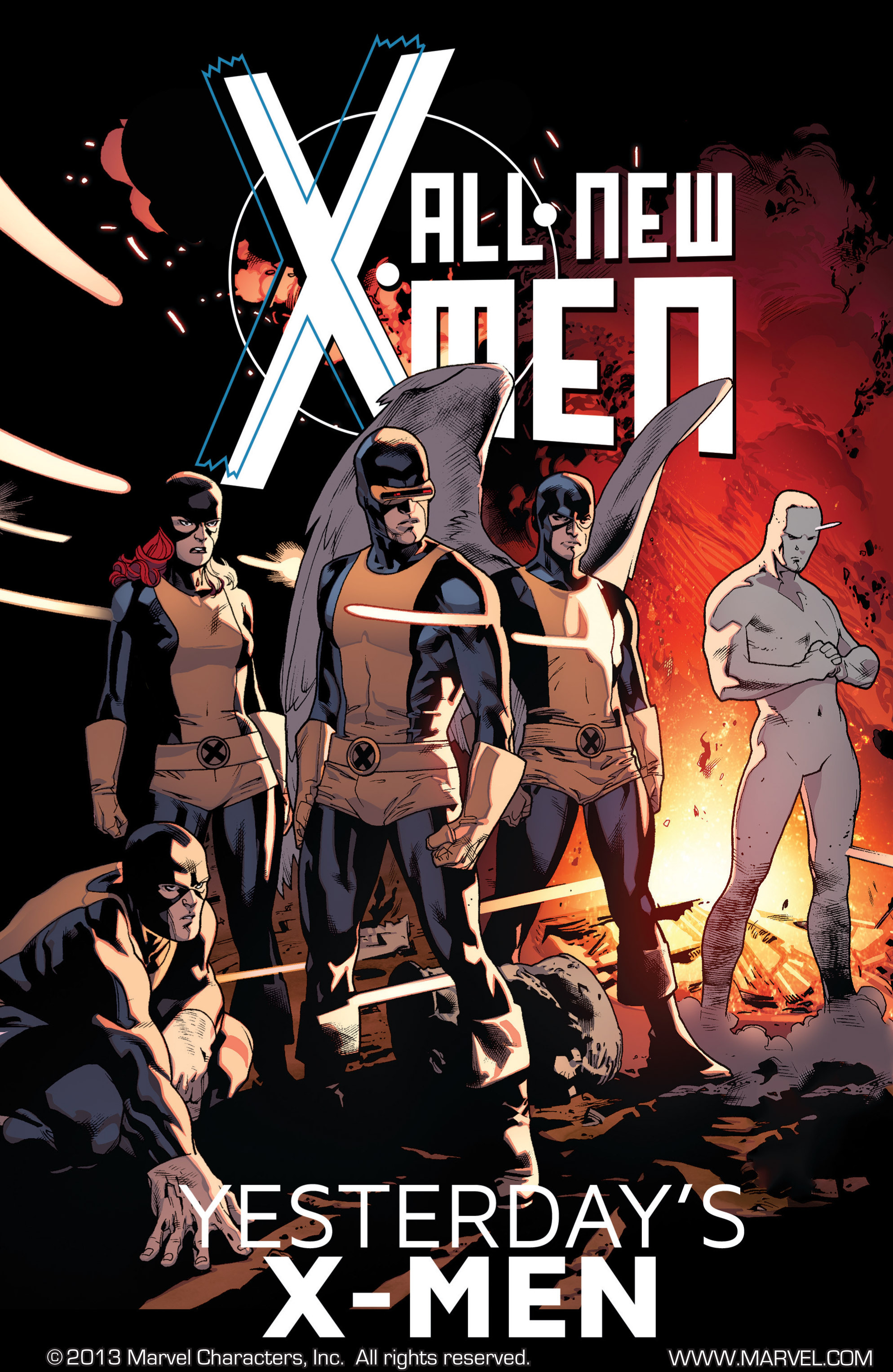 Read online All-New X-Men (2013) comic -  Issue # _Special - Yesterday's X-Men - 104