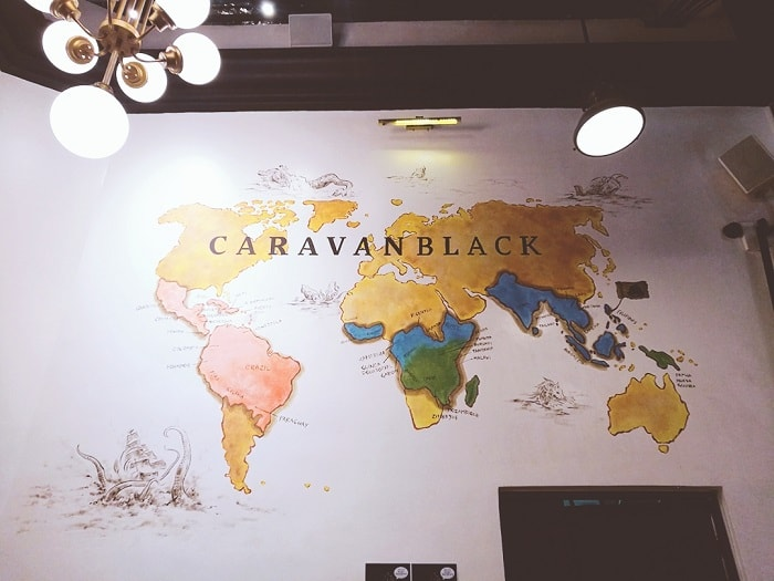 Caravan Black in BGC, cafe in Manila