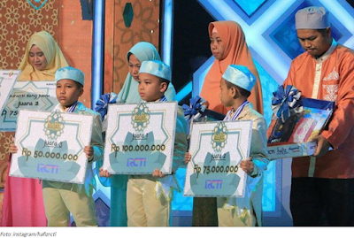 Juara 1, 2, 3 Hafiz Indonesia 2017
