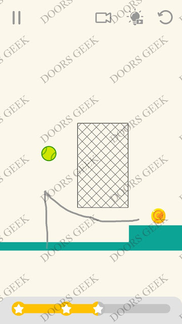 Draw Lines Level 57 Solution, Cheats, Walkthrough 3 Stars for Android and iOS