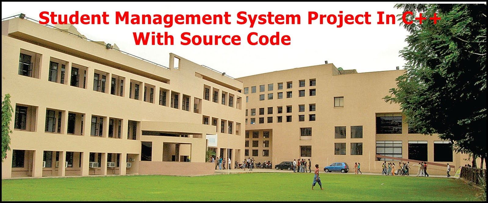 C++ Project For Student Management System (SMS PROJECT) With Source Code