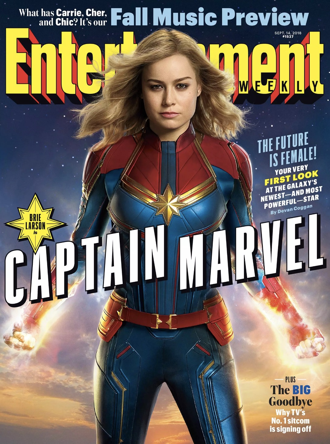 Captain marvel film foto