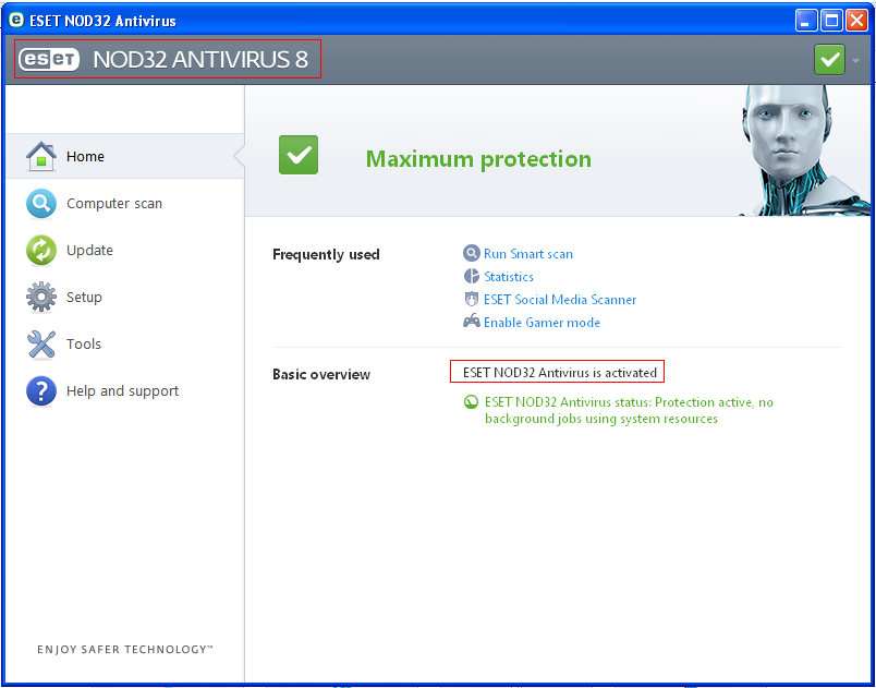 eset nod32 antivirus 5 username and password free
