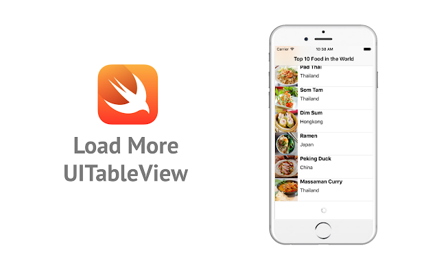 (Tutorial iOS) Add Load More in UITableView