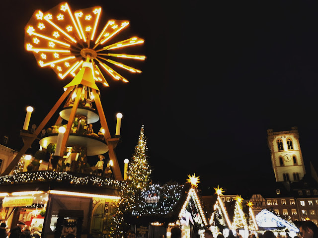 The beautiful Trier Christmas market