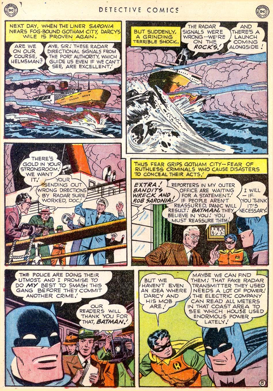 Detective Comics (1937) 165 Page 8