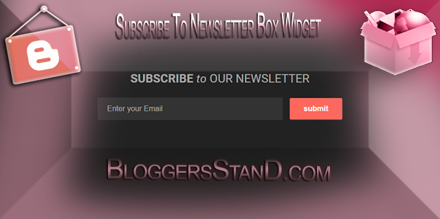How To Add Subscribe To Our Newsletter Box Below Post Footer