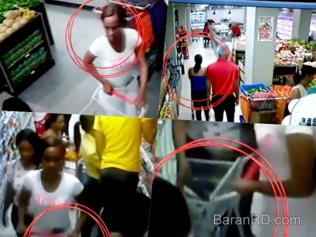 Video: Así estas mujeres robaron cartera a otra en supermercado de SFM