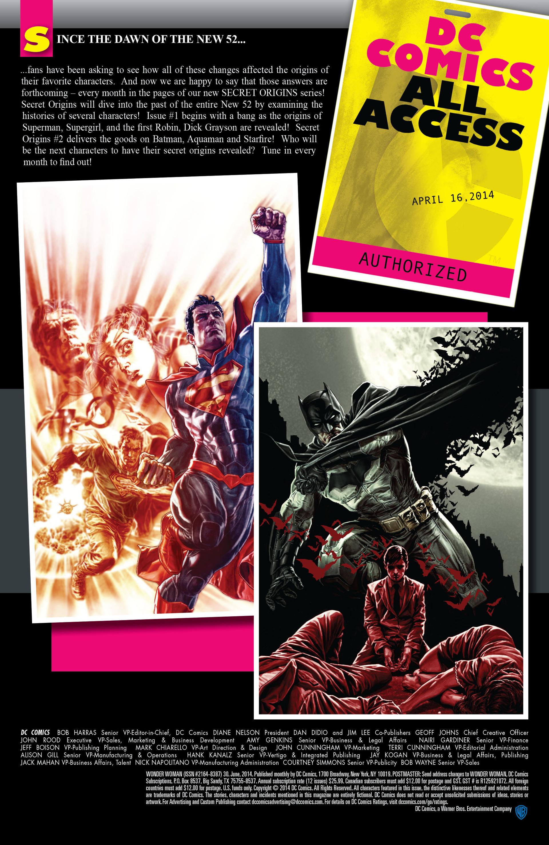 Read online Wonder Woman (2011) comic -  Issue #30 - 22